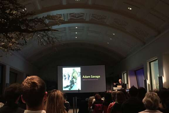 """Adam Savage of """"Mythbusters"""" hosted��The Big Picture,"""" an international nature photography contest at the California Academy of Sciences, on Thursday, July 28."""