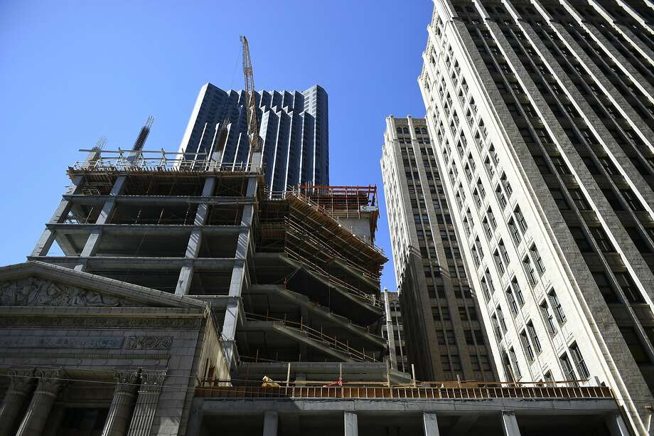 With the Central SoMa plan expected to be approved by the Board of  Supervisors next year, property owners in the area have proposed 5.5  million square feet of new office construction. Photo: Michael Noble Jr., The Chronicle