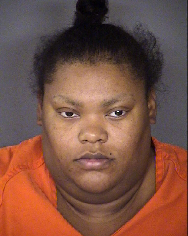 Kris Smith, 23, was arrested on Aug. 2, 2016, on a first-degree felony charge of injury to a child causing serious bodily injury with intent. Smith is accused of allegedly burning her three-year-old son with hot water after he soiled his pants. Photo: Courtesy Bexar County
