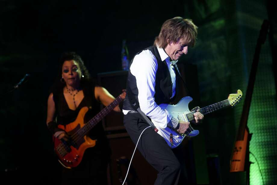 Jeff Beck will play with Buddy Guy in Saratoga and San Francisco. Photo: KARSTEN MORAN, NYT