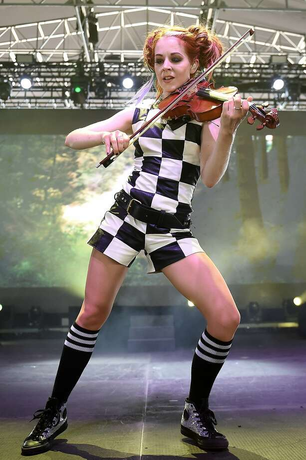 NEW YORK, NY - JULY 22:  Lindsey Stirling performs onstage at the 2016 Panorama NYC Festival - Day 1 at Randall's Island on July 22, 2016 in New York City.  (Photo by Nicholas Hunt/Getty Images) Photo: Nicholas Hunt, Getty Images