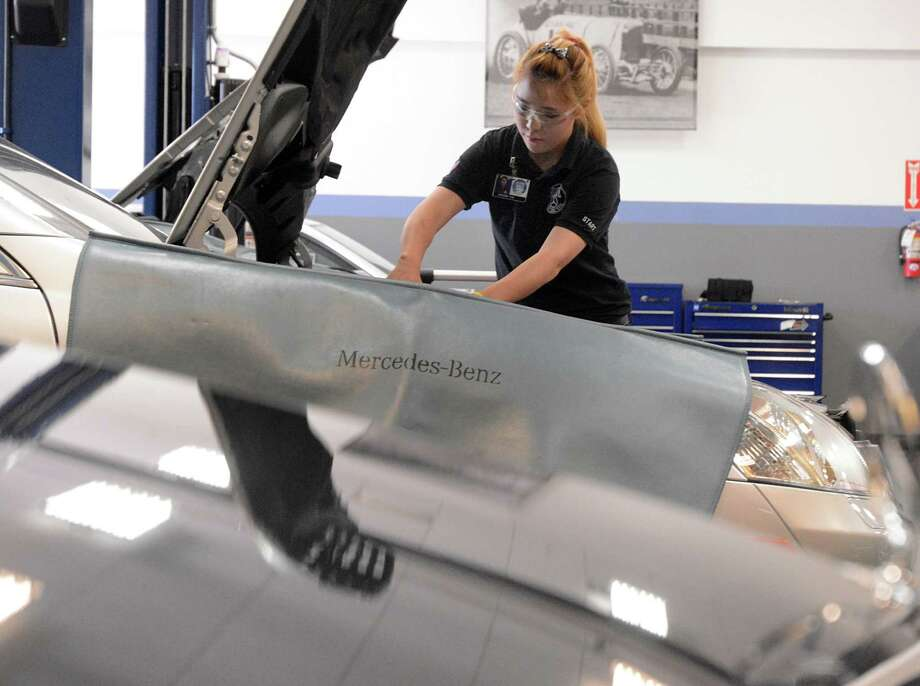 Interest in engines leading to career as mechanic for Mercedes benz mechanic houston