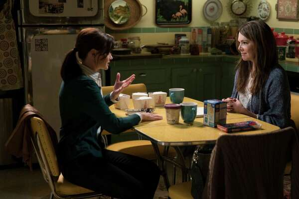Alexis Bledel and Lauren Graham return as daughter and mom Rory and Lorelai in 'Gilmore Girls: A Day in the Life,' a four-part series that bows on Netflix Nov. 25, 2016.