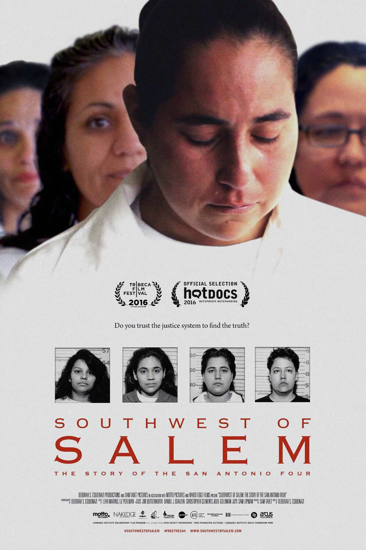 The official poster for the documentary, 'Southwest of Salem: The Story of the San Antonio Four,' which will premiere on TV Oct. 15 on cable's Investigation Discovery channel.