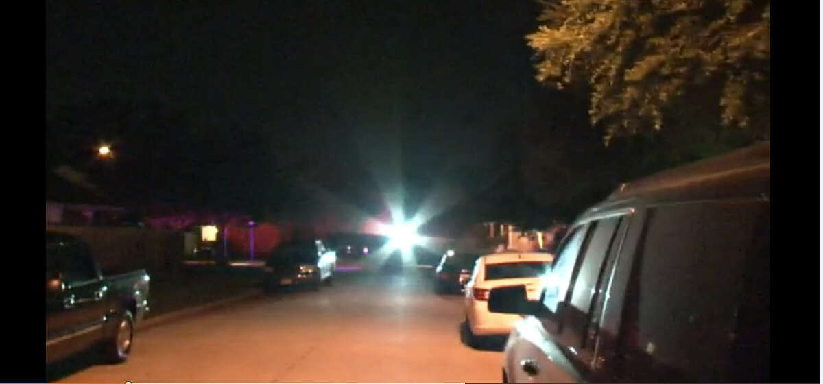 One of two men is in custody after the pair led police on a chase that began about 3 a.m. Wednesday, July 3, 2016, on Trafalgar near White Heather in southwest Houston (Metro Video)