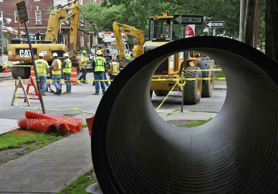 Water off, repairs on at Albany sinkhole site - Times Union