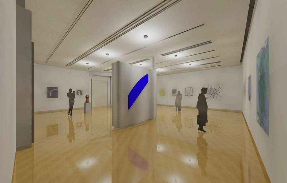 A rendering of what the Feibes & Schmitt Gallery at The Hyde Collection in Glens Falls will look like. Architect: Gary McCoola. (Courtesy The Hyde Collection.)
