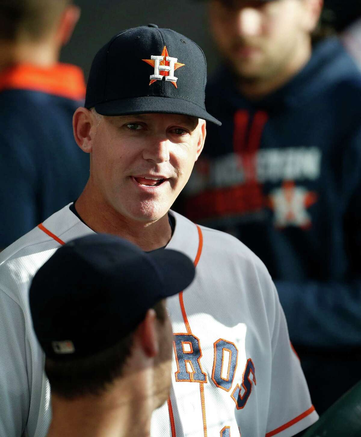 A.J. Hinch's approval rating Approve: 30 percent Disapprove: 8 percent Not sure: 62 percent