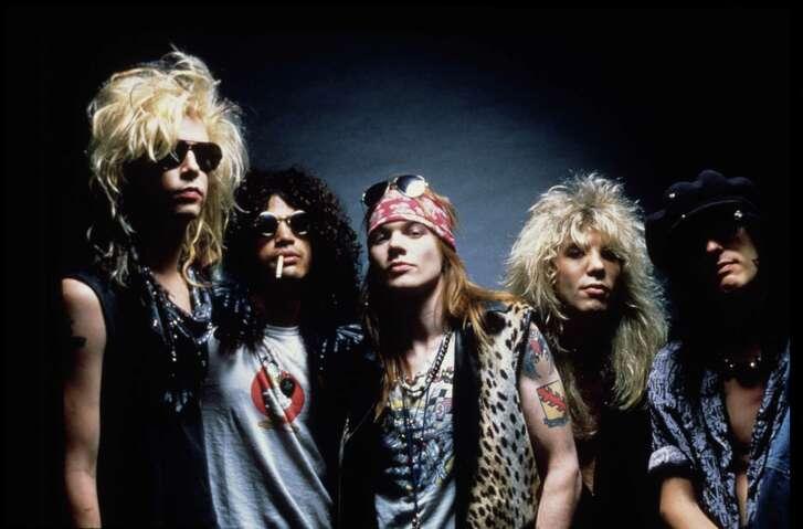 Guns N' Roses rock band.  (handout slide)