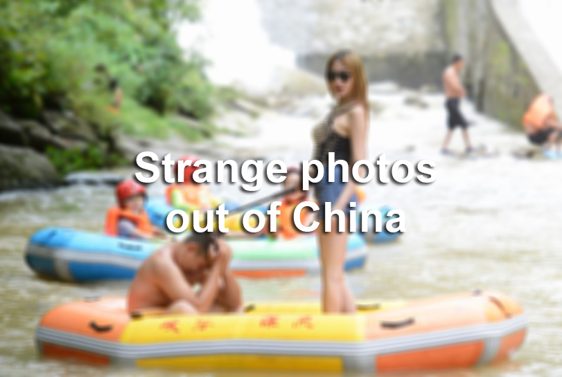 Intriguing Photos Out Of China Sfgate