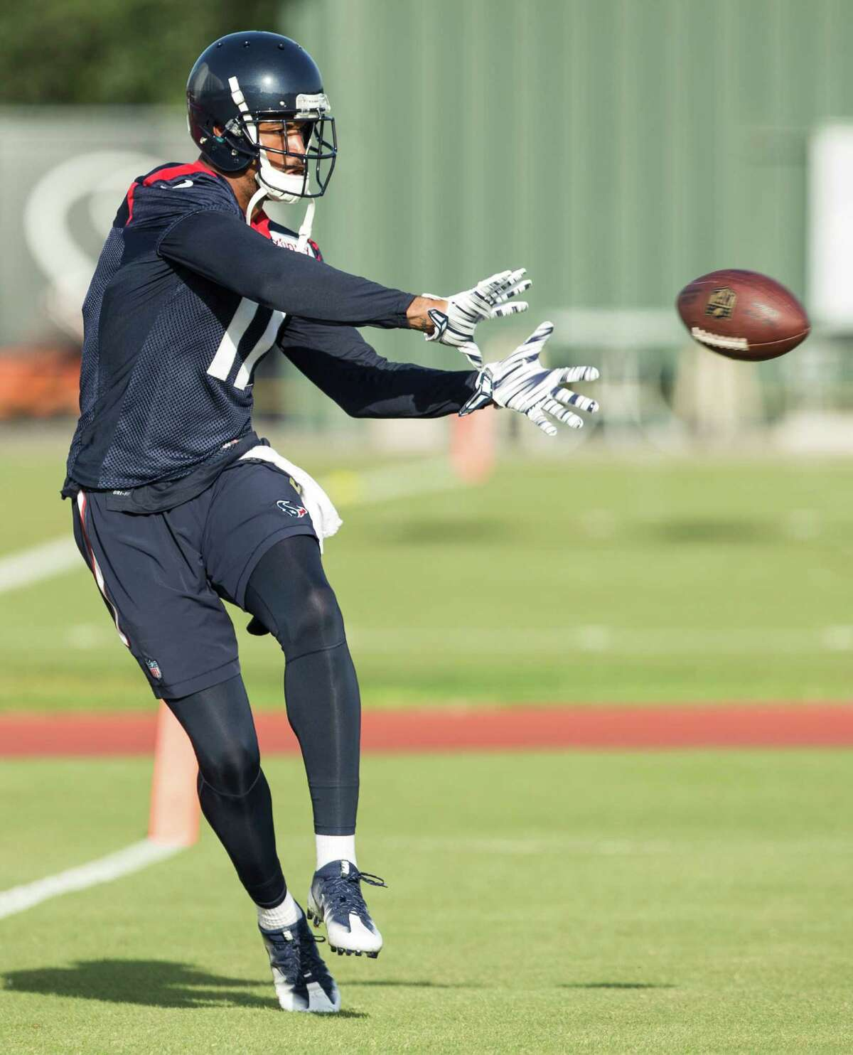 Texans wide receiver Jaelen Strong had his issues in Thursday's loss at New England.