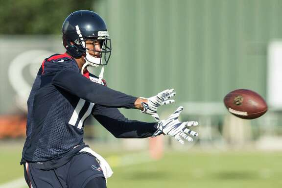 Texans wide receiver Jaelen Strong can thank a helpful mom and no-nonsense coach for shaping up.