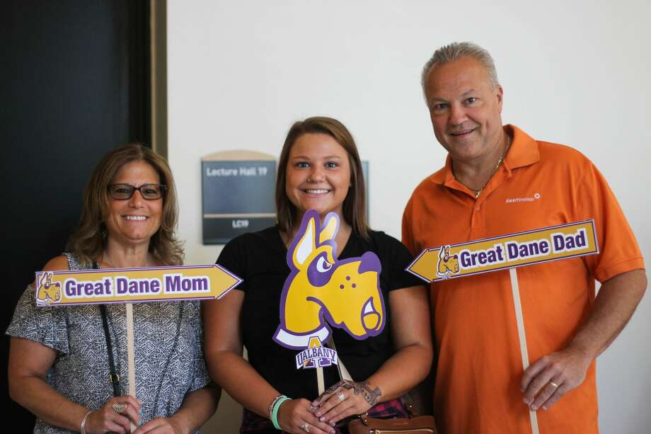 Were you Seen at one of the 13 summer orientation sessions held at the University at Albany from Monday, June 20–Tuesday, Aug. 2, 2016? Photo: Erin Nagy