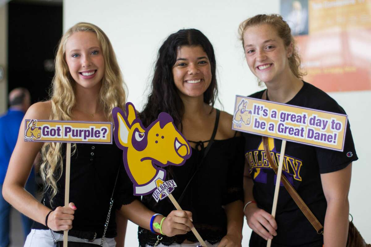 Were you Seen at one of the 13 summer orientation sessions held at the University at Albany from Monday, June 20-Tuesday, Aug. 2, 2016?