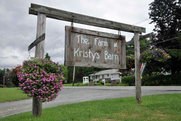 The Farm at Kristy's Barn on Tuesday, Aug. 2, 2016 in Schodack, N.Y. (Eliza Mineaux/Special to the Times Union)
