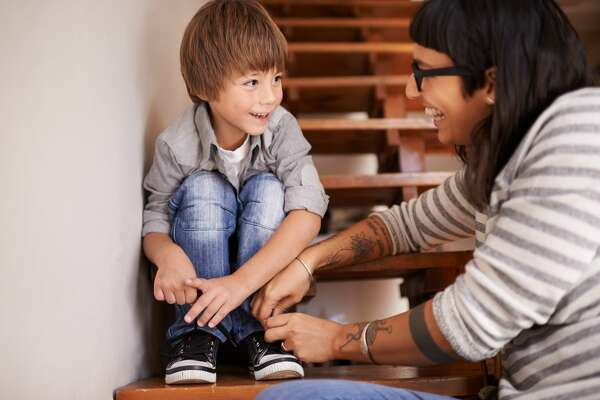 Don't do for your child what they can do for themselves. Doing everything for your children raises helpless, entitled kids.