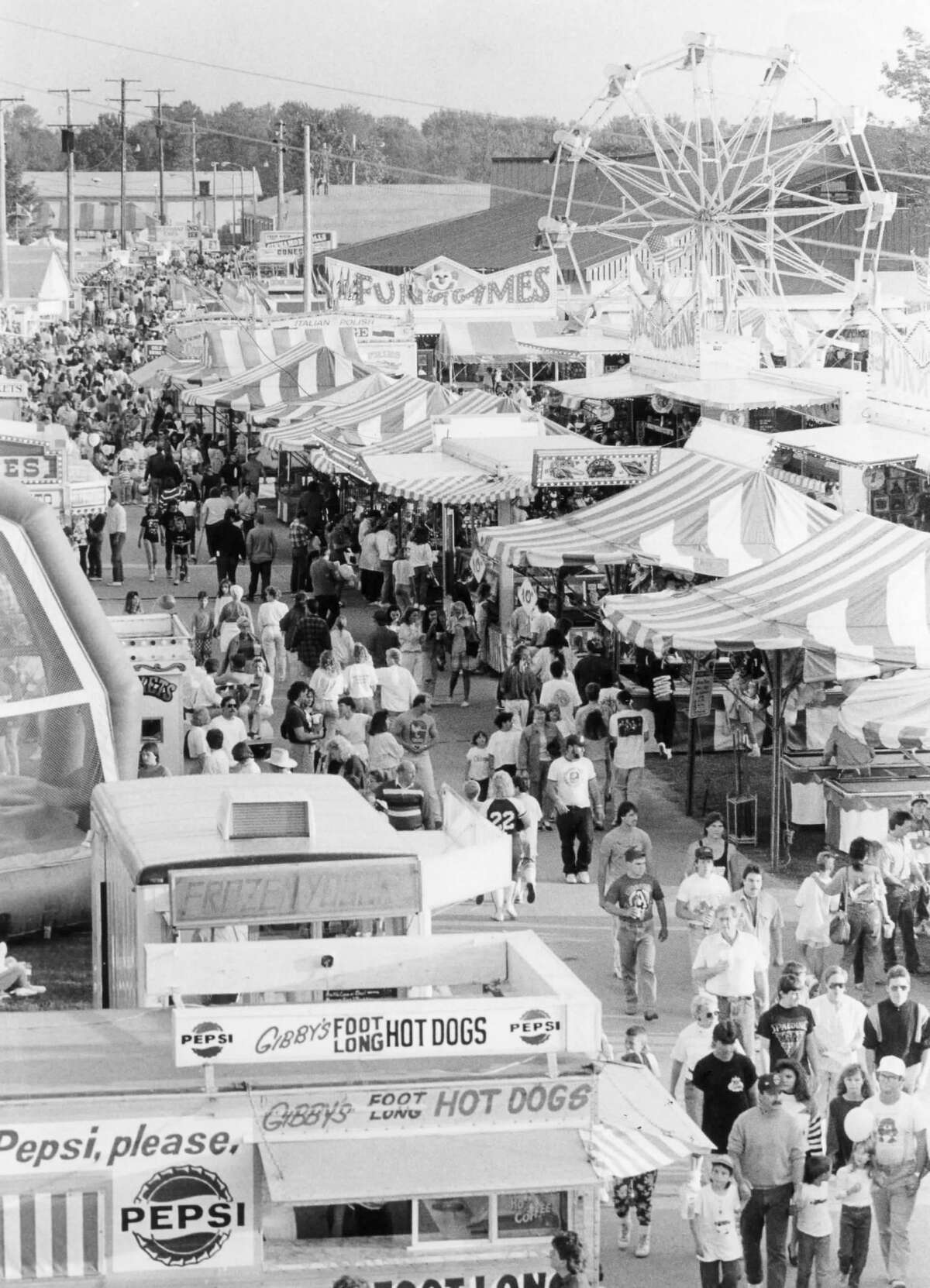 The Midway. August 1990
