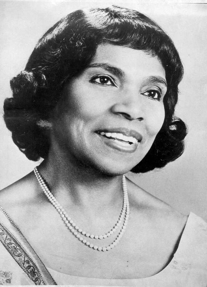 Marian Anderson Photo: File Photo