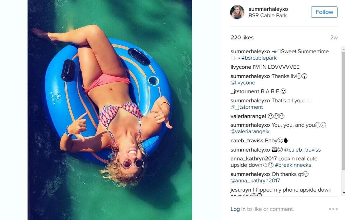 """Sweet summertime,"" @summerhaleyxo."