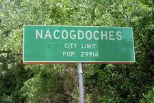 """OLDEST CITY: NACOGDOCHES Well, maybe. There is some debate about who officially holds the """"oldest city in Texas"""" title, but many signs point to this town. There is evidence of a settlement at the same site of the town dating back 10,000 years ago. In more recent history, the Spanish established a mission here in 1716, though the Caddo Indians called this place home until the early 1900s. Fun fact: This town has been under nine flags. In addition to the Six Flags of Texas, it also flew under the flags of the Magee-Gutierrez Republic, the Long Republic, and the Fredonian Rebellion. Photo by: Flickr/Jeff Attaway"""