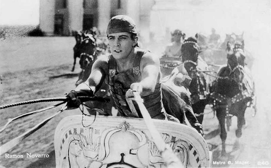 """Ramon Novarro starred in the 1925 """"Ben-Hur: A Tale of the Christ,"""" then the most expensive film production ever. Photo: MGM"""