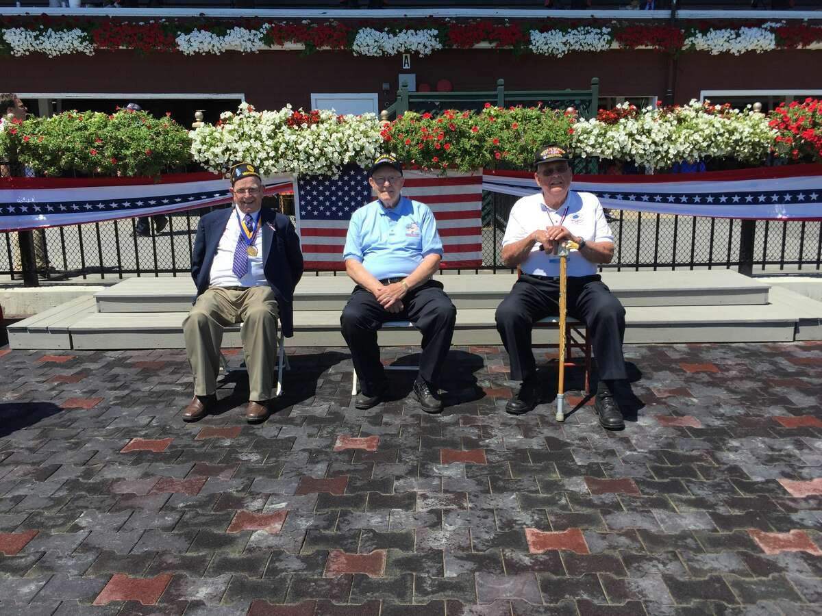 Were you Seen at Military Day at the Saratoga Race Course in Saratoga Springs onWednesday, Aug. 3, 2016?