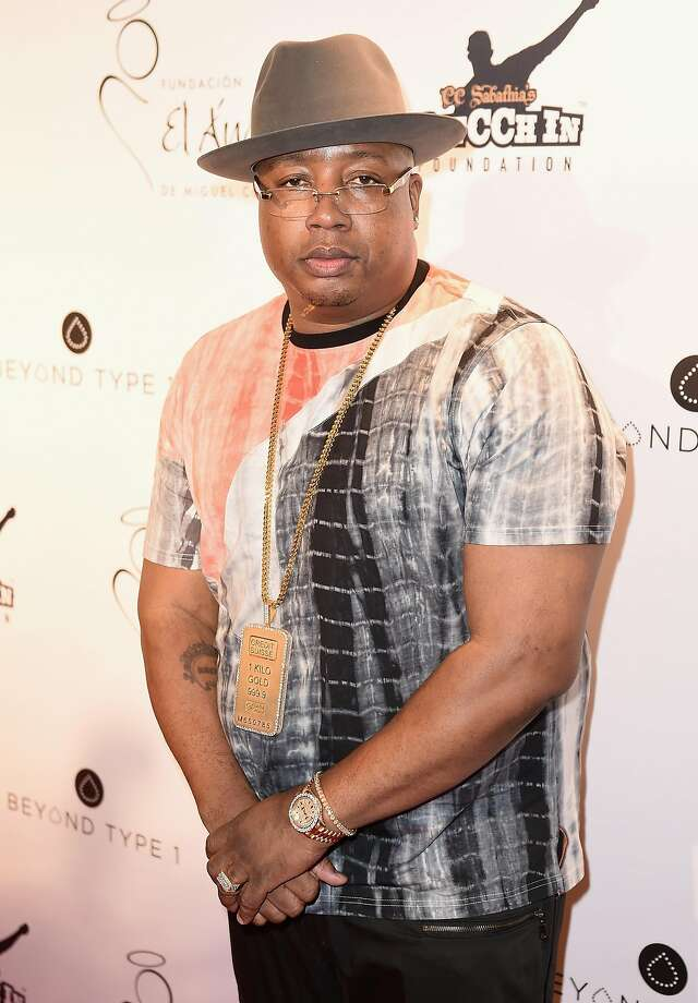Rapper E-40 attends the Roc Nation Summer Classic Charity Basketball Tournament at Barclays Center of Brooklyn on July 21, 2016 in New York City. Photo: Nicholas Hunt, Getty Images