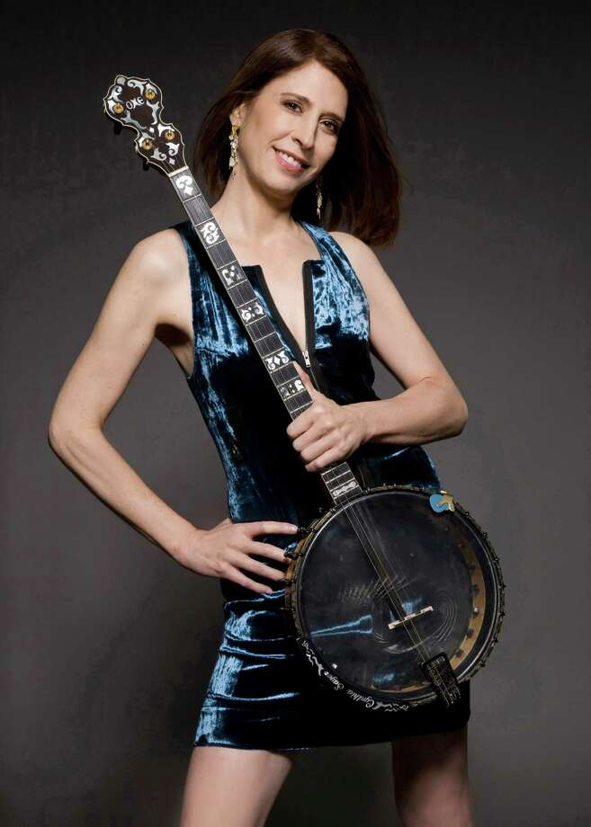 Jazz banjo virtuoso and singer Cynthia Sayer will perform Wednesday evening in Roger Sherman Baldwin Park. Photo: / Westport News /Contributed Photo / Westport News