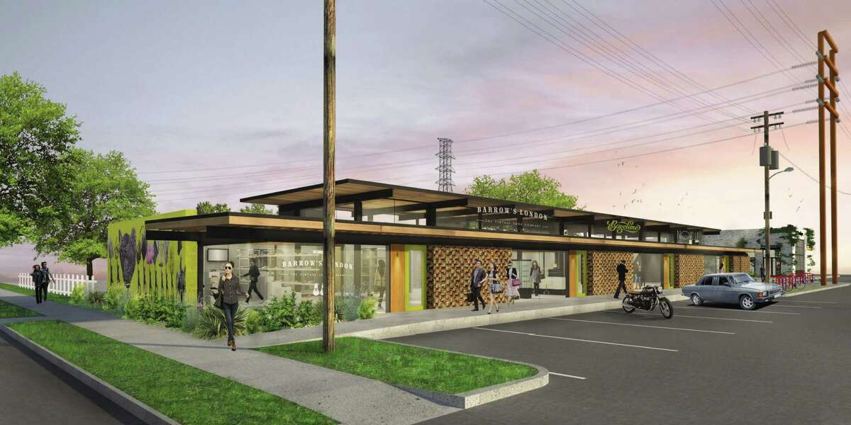 Renderings of Heights Mercantile (Courtesy ofRadom Capital LLC)