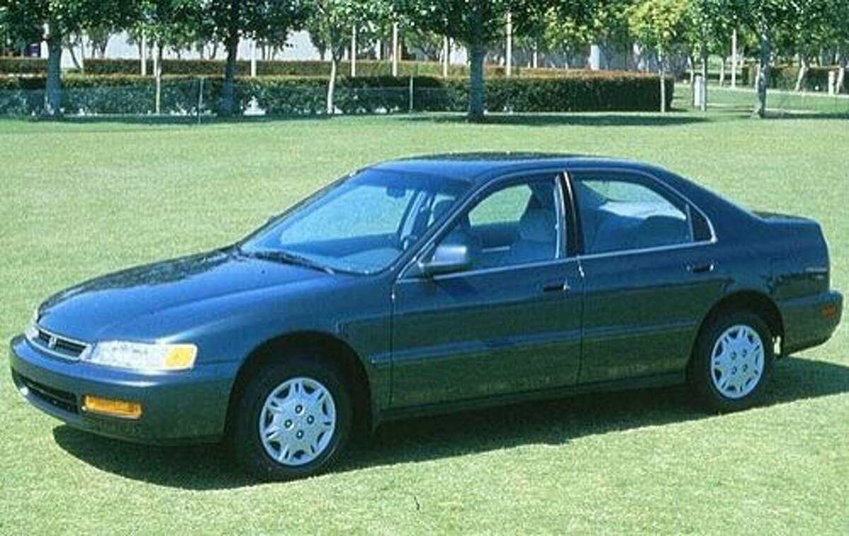 Click through for a slideshow of vehicles most often stolen in 2016 in New York state and around the country. 1. 1997 Honda Accord