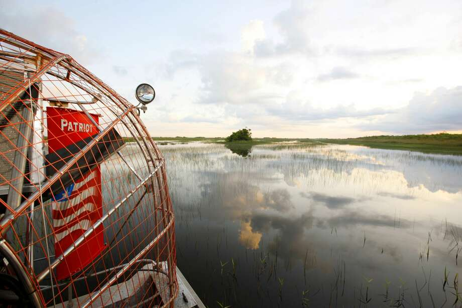 FRIDAY-SUNDAY: 'AIRBOAT RIDES'When:Aug. 5-7Where:Pine Tree Lodge, 3296 Pinetree Rd., BeaumontCost:$30 per person, 20-25 minute boat rideInfo:409-796-1600 Photo: Hoberman Collection/UIG Via Getty Images