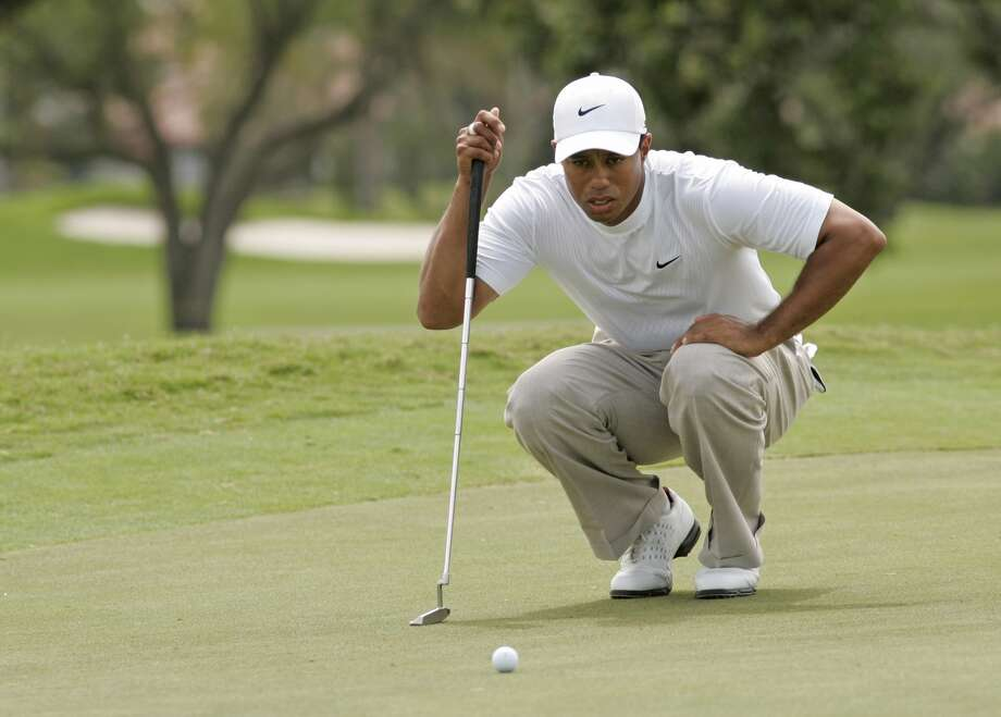 Tiger Woods during the third round of the WGC-CA Championship held on the Blue Course at Doral Golf Resort and Spa in Doral, Florida, on March 24, 2007. Photo by: Chris Condon/PGA TOUR (Photo by Chris Condon/PGA) Photo: Chris Condon, PGA