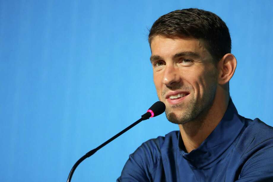 RIO DE JANEIRO, BRAZIL - AUGUST 03:  Michael Phelps of the United States speaks with the media during a press conference at the Main Press Centre ahead of the Rio 2016 Olympic Games on August 3, 2016 in Rio de Janeiro, Brazil.  (Photo by Chris Graythen/Getty Images) ORG XMIT: 595884447 Photo: Chris Graythen / 2016 Getty Images