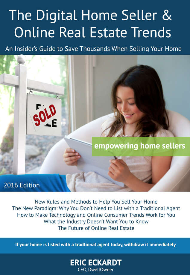 Eric Eckhardt, founder and CEO of the local real estate company, DwellOwner, published a book online about buying and selling property. (Provided)