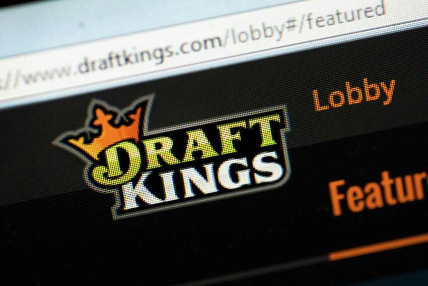 CHICAGO, IL - OCTOBER 16: The fantasy sports website DraftKings is shown on October 16, 2015 in Chicago, Illinois. DraftKings and its rival FanDuel have been under scrutiny after accusations surfaced of employees participating in the contests with insider information. An employee recently finished second in a contest on FanDuel, winning $350,000. Nevada recently banned the sites. (Photo illustration by Scott Olson/Getty Images) ORG XMIT: 586020605