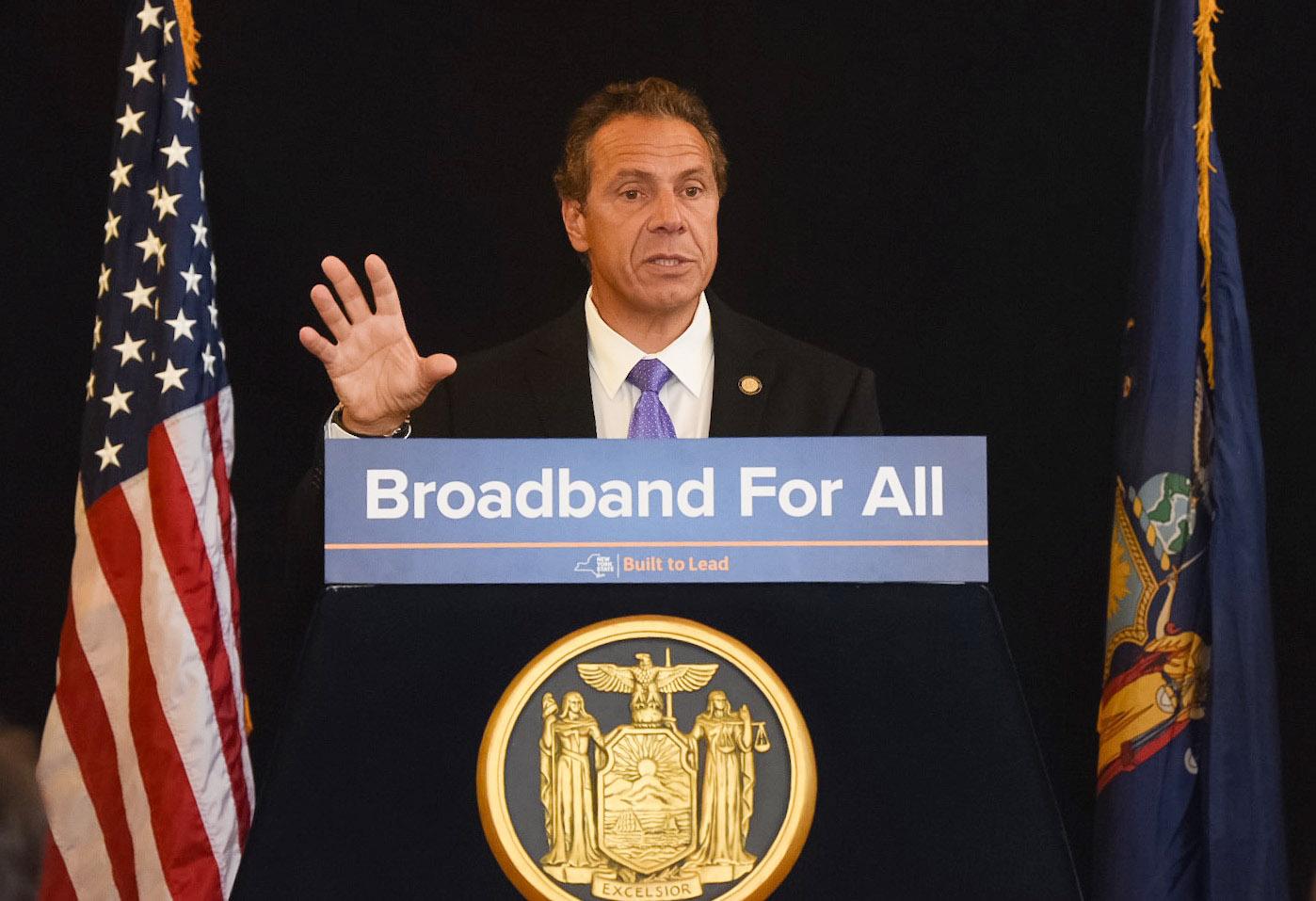 Cuomo touts progress of broadband expansion - Times Union