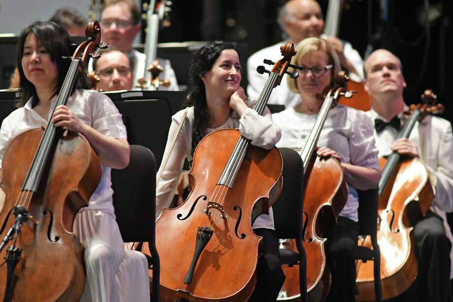 The Philadelphia Orchestra opening night at SPAC on Wednesday Aug. 3, 2016 in Saratoga Springs, N.Y. (Michael P. Farrell/Times Union) Photo: Michael P. Farrell / 40036877A