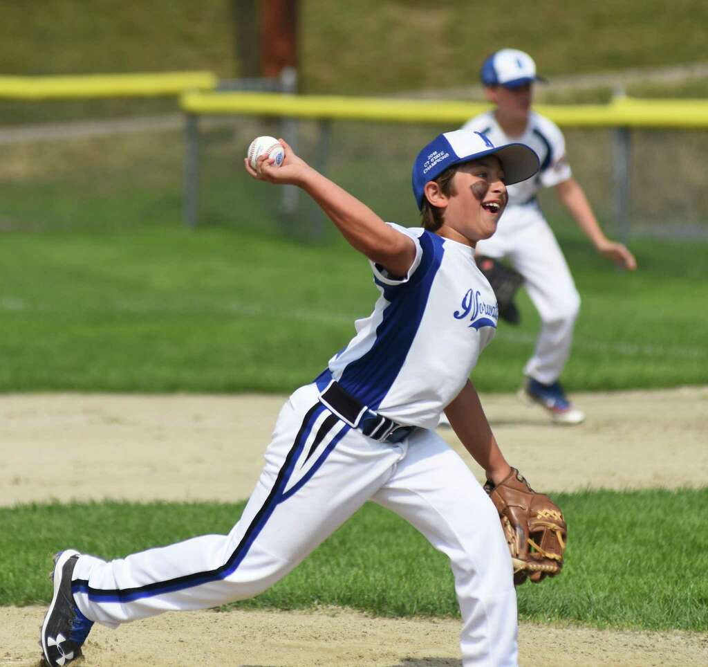 Norwalk 10s pitching formula working two innings at a time - The Hour
