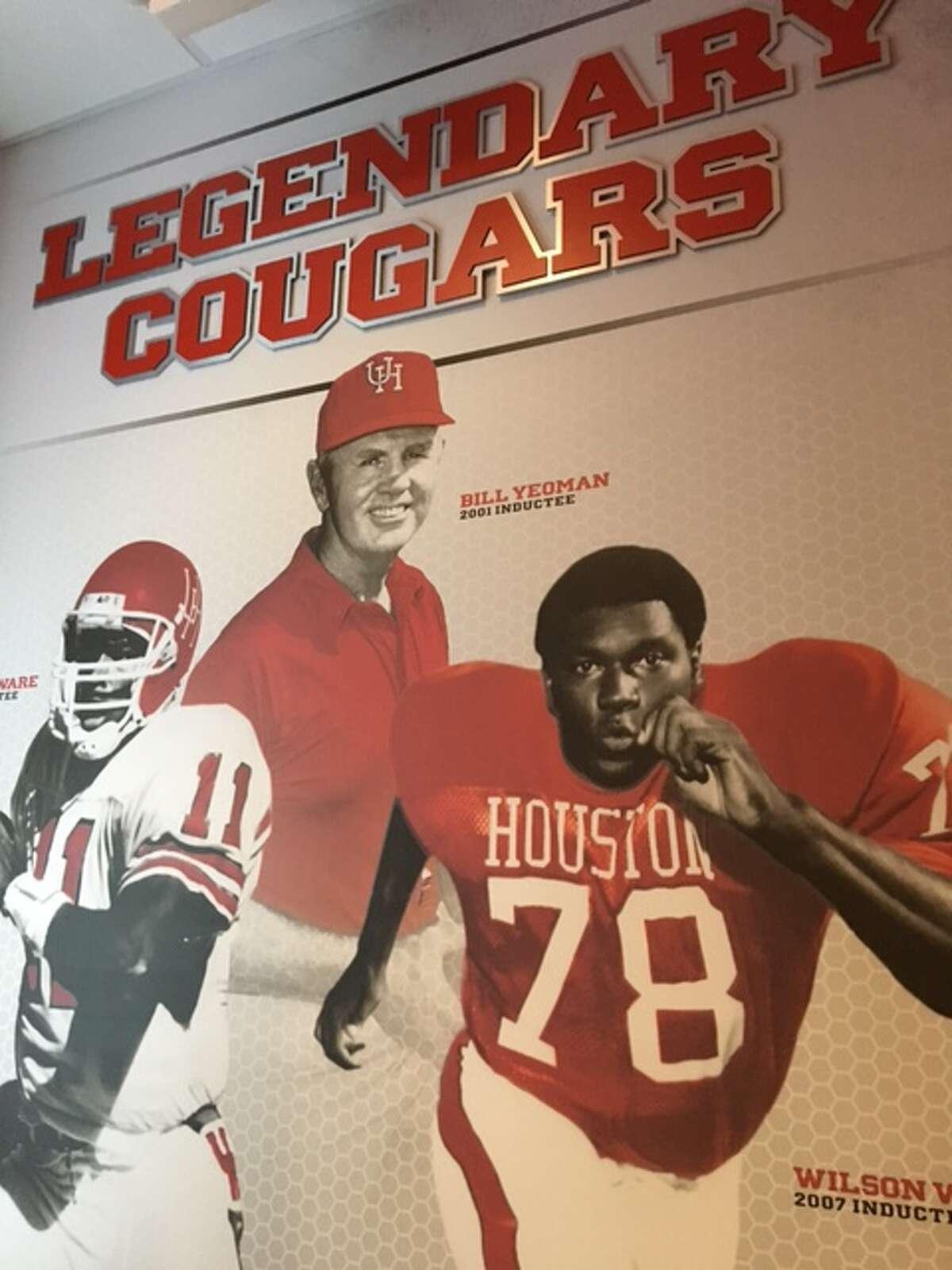 A look inside the University of Houston's $1 million football locker room makeover. (Joseph Duarte / Houston Chronicle)