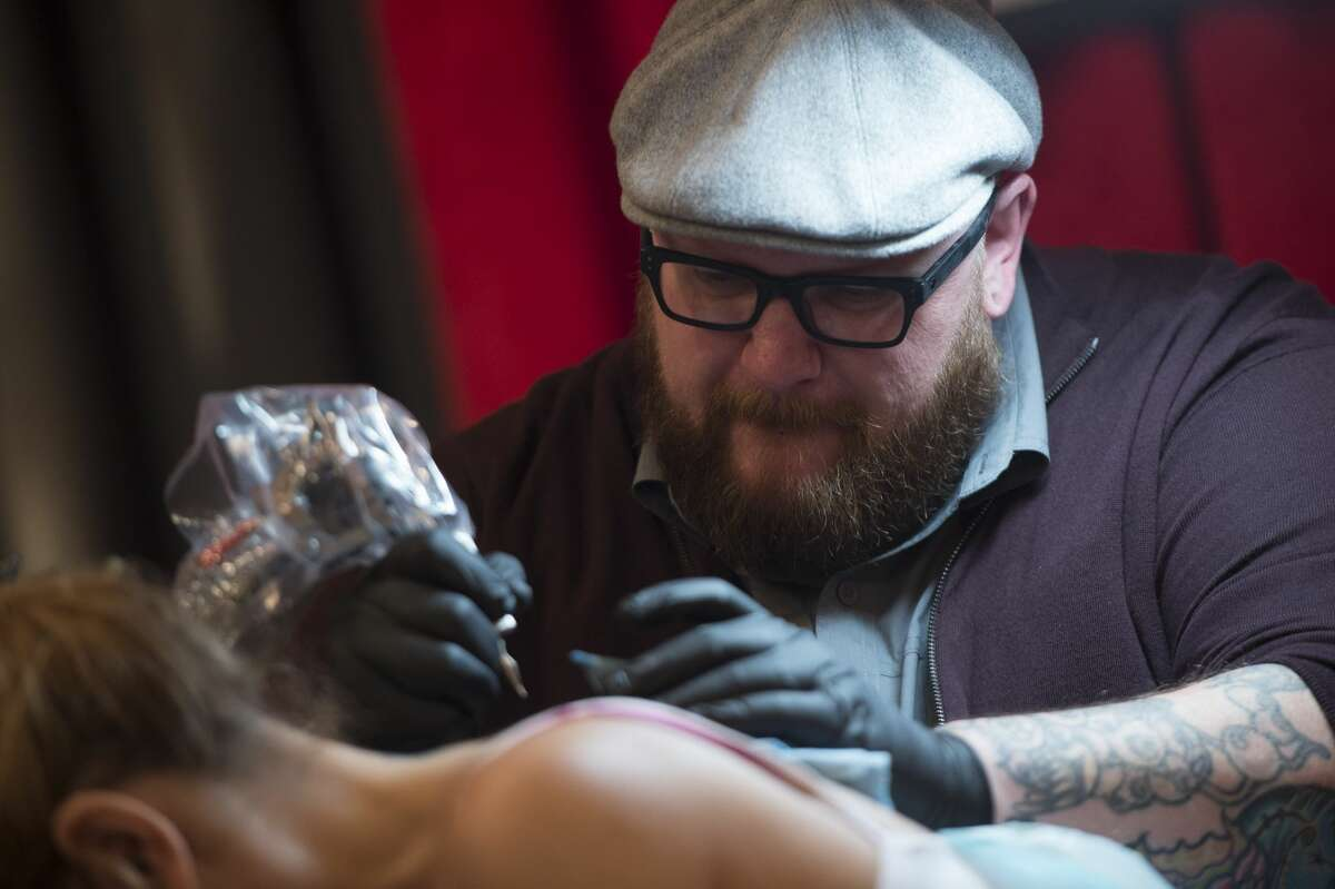 """When long-running tattooing reality-competition series """"Ink Master"""" kicks off its eighth season later this month on the Spike network, some Houstonians might recognize one of their own in the cast. Houston tattoo artist Nate Beavers is a part of this upcoming season of """"Ink Master,"""" premiering Aug. 23 on the cable network. Click through to see some of Beavers' tattoo work...."""