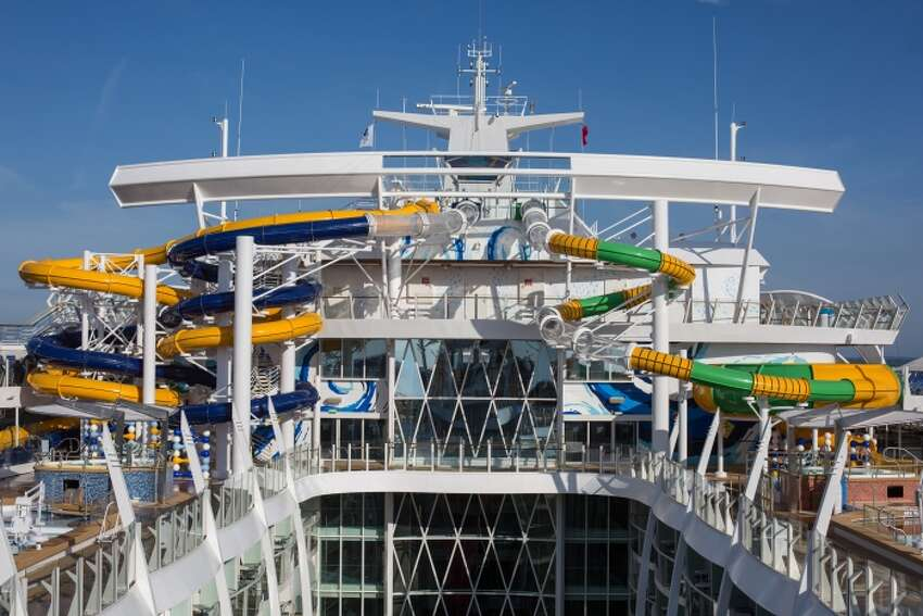 Royal Caribbean's Harmony at Sea breaks many records and sets many precedents aside from being the world's largest cruise ship. From the tallest slide and fastest internet speeds at sea, to robot bars and over 2,700 rooms, the cruise ship is boding well for the cruise giant.