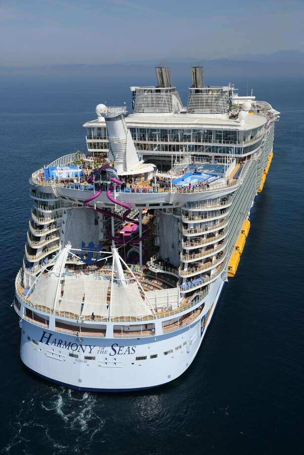 Royal Caribbean's Harmony at Sea breaks many records and sets many precedents aside from being the world's largest cruise ship. From the tallest slide and fastest internet speeds at sea, to robot bars and over 2,700 rooms, the cruise ship is boding well for the cruise giant. Photo: Royal Caribbean Press Center