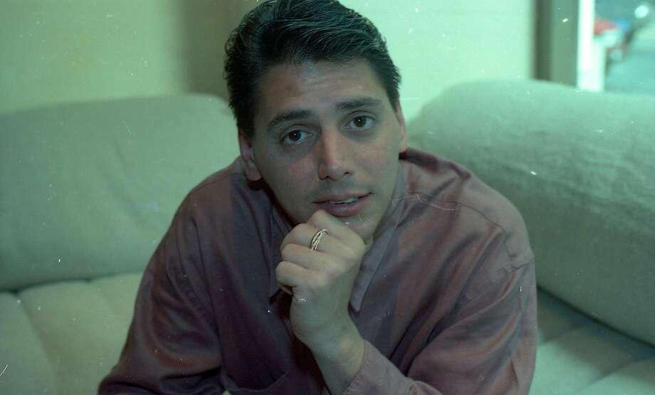1991: George Morrone at Aqua. Photo: Liz Hafalia, The Chronicle