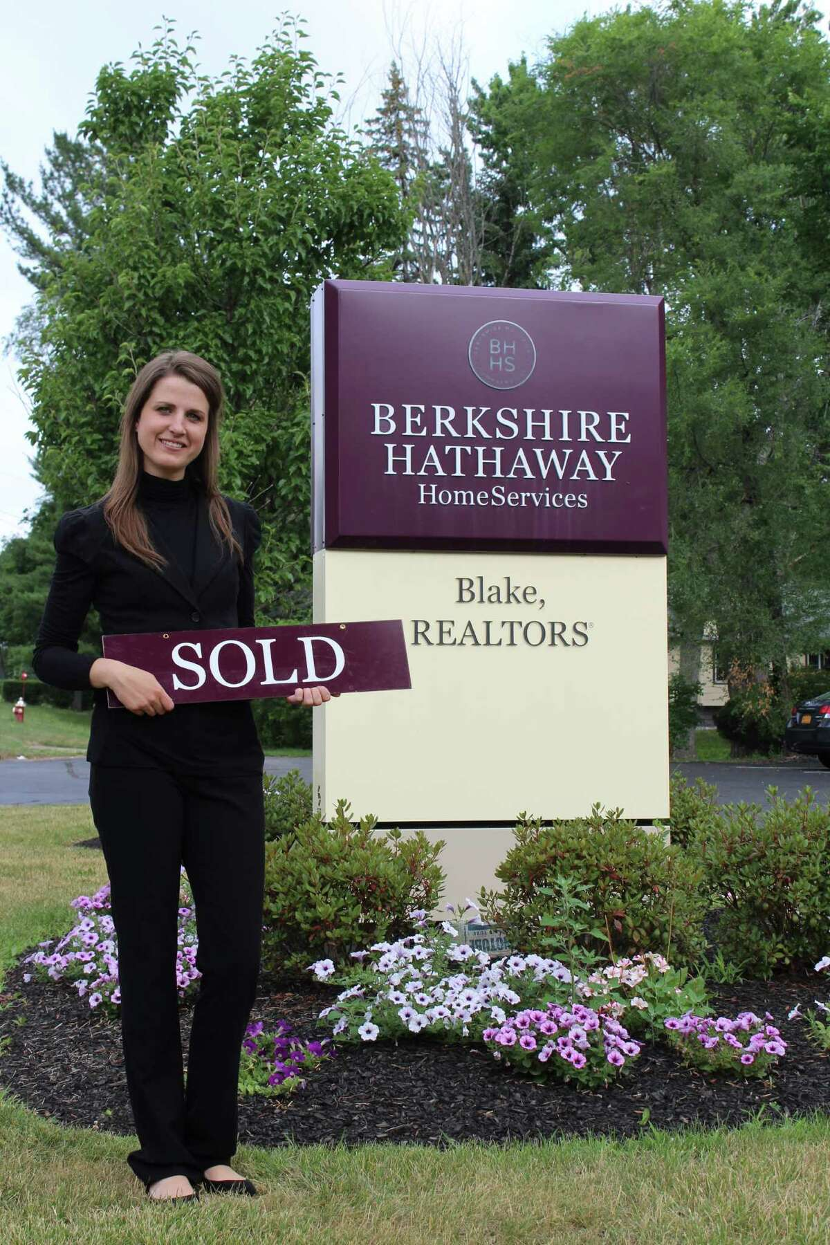 Lisa Roth, a real estate agent with Berkshire Hathaway