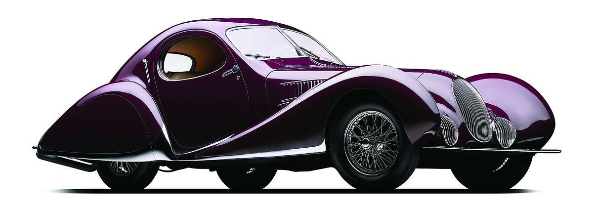 One of the following six award-winning vintage cars will receive the Peninsula Classics Best of the Best Award on Aug. 16 during Monterey Car Week in Carmel-by-the-Sea, Calif. The first entry is: 1937 Talbot-Lago T150C SS 'Goutte d'Eau': Goodwood Cartier Style et Luxe - This masterful coachwork by Figoni et Falaschi won prizes at every major concours in pre-war Europe and is famed for having both redefined automotive style and having won top-level races. The