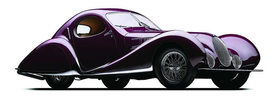 """One of the following six award-winning vintage cars will receive the Peninsula Classics Best of the Best Award on Aug. 16 during Monterey Car Week inCarmel-by-the-Sea, Calif. The first entry is:1937 Talbot-Lago T150C SS 'Goutte d'Eau': Goodwood Cartier Style et Luxe—This masterful coachwork by Figoni et Falaschi won prizes at every major concours in pre-war Europe and is famed for having both redefined automotive style and having won top-level races. The """"Teardrop"""" became trend setting and motivated many other French manufacturers to consider a similar streamlined design. Photo: Photos Used With Permission Of Peninsula Classics Best Of The Best"""
