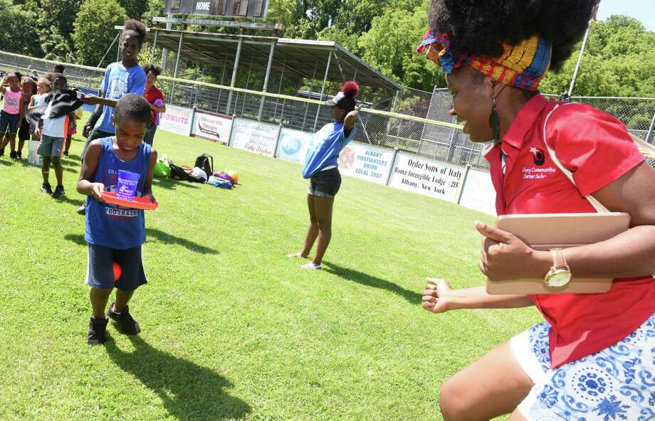 Photos: Albany Summer Camp Olympics - Times Union