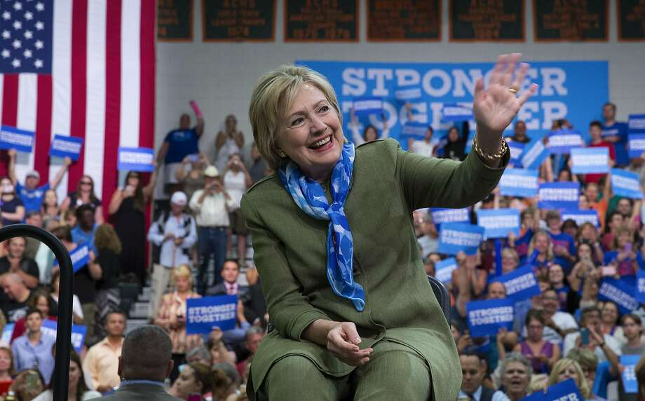 Hillary Clinton's team expects to have a more for mal operation to attract GOP voters by Labor Day. Photo: RUTH FREMSON, NYT