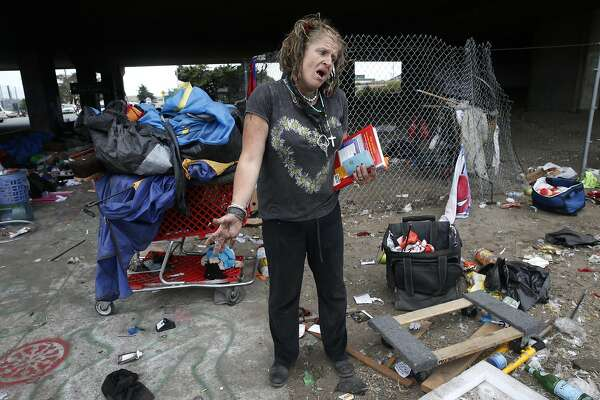 Gilman Street Homeless Camp Being Shut Down Sfchronicle Com