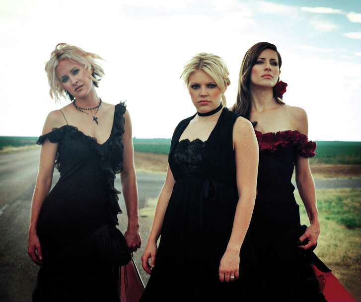 The Dixie Chicks are, from left, Martie Erwin, Natalie Maines and Emily Strayer. The trio plays Saturday in The Woodlands.